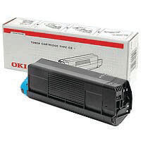Oki Cyan Toner Cartridge - High Capacity 43459323