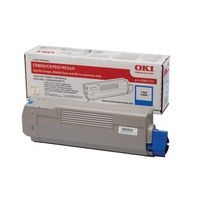 Oki Cyan Toner Cartridge - 43865723