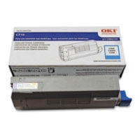 Oki Cyan Toner Cartridge - 44318607