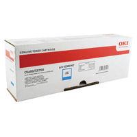 Oki Cyan Toner Cartridge - 44315307