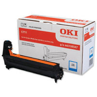 View more details about Oki C711 Cyan Image Drum 20K 44318507
