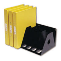 View more details about Rotadex 7-Section Ring Binder Filing Unit A4 Black A4R/7