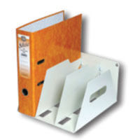 Rotadex Smoke White Lever Arch File Rack (holds 3 files) - LAR3