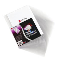 Rexel  Nyrex Card Holder, Pack of 25 - 12010