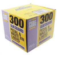 Le Cube Pedal Bin Liner Dispenser, Pack of 300 - 0362