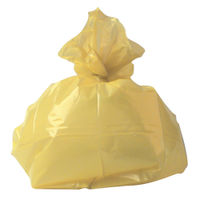 2Work Refuse Sacks 100g Yellow, Pack of 200 - RY15581