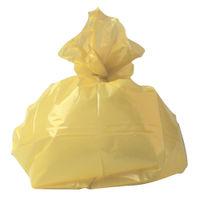 2Work Refuse Sacks 100g Yellow, Pack of 200 - RY15581