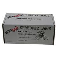 Safewrap Shredder Bag 100L, Pack of 50 - RY0471