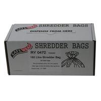 Safewrap Shredder Bag 150L, Pack of 50 - RY0472