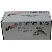 Safewrap Shredder Bag 200L, Pack of 50 - RY0473