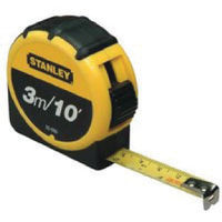 Stanley 3 Metre Retractable Tape Measure - 661672