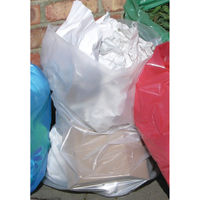 2Work Clear Polythene Bags on a Roll, Pack of 250 - MVK032