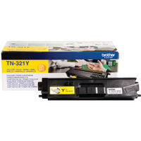 Brother TN-321Y Yellow Toner Cartridge - TN321Y