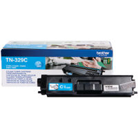 Brother TN-329C Cyan Toner Cartridge - Extra High Capacity TN329C