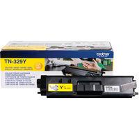 Brother TN-329Y Yellow Toner Cartridge - Extra High Capacity TN329Y