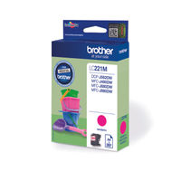 Brother LC221 Magenta Ink Cartridge - LC221M