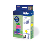 Brother LC221 Yellow Ink Cartridge - LC221Y