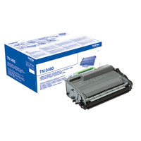 Brother TN-3480 Black Toner Cartridge - High Capacity TN3480