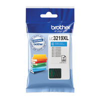 Brother LC-3219 Cyan High Yield Ink Cartridge - LC3219XLC