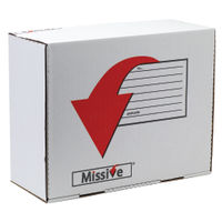Missive Large Parcel Value Mailing Box 375 x 475 x 197mm, Pack of 20 - 7272404
