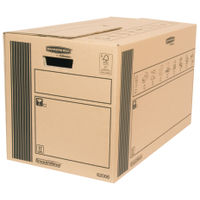 Classic Double Wall Removal Cardboard Box 350x660 x 370mm, Pack of 10 - 6206602