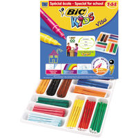 BIC Kids Visa Fine Felt Tip Pens, Pack of 144 - 887838