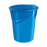 CepPro Gloss Blue Waste Bin, 14L - 280G BLUE