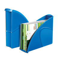 View more details about CepPro Gloss Blue Magazine Rack - 674G BLUE