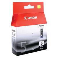 Canon PGI-5BK Black Ink Cartridge Twin Pack - 0628B030