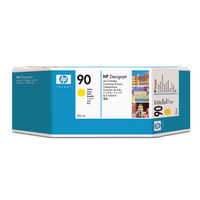 View more details about HP 90 Yellow Ink Cartridge 225ml C5064A