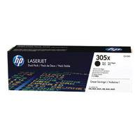 HP 305X Black Toner Twin Pack - High Capacity CE410XD