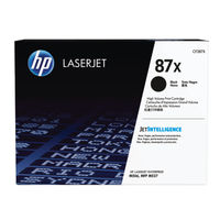 HP 87X Black Toner Cartridge - High Capacity CF287X