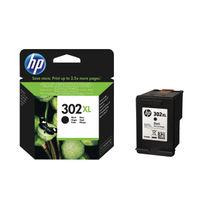 HP 302 XL Black Ink Cartridge - High Capacity F6U68AE