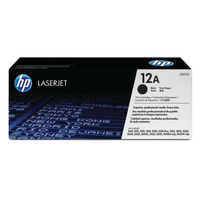 HP 12A Black Toner Twin Pack - Q2612AD