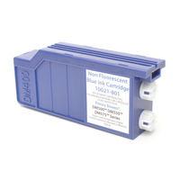 Q-Connect Pitney Bowes Compatible Franking Ink, Blue - CM-QC-30058-00