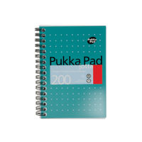 View more details about Pukka Pad A6 Metallic Ruled Jotta Notepads, Pack of 3 - JM036