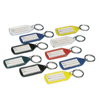 View more details about Stephens Assorted Tabbies Keyrings (Pack of 10) RS046257