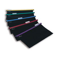 View more details about Snopake Assorted Foolscap HangGlider Suspension Files, Pack of 25 - 10279