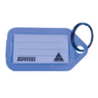 View more details about Kevron Plastic Clicktag Key Tag Blue (Pack of 100) ID5BLU100