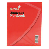 View more details about Silvine Exercise Book 200x160mm 40 Leaf Ruled Feint (Pack of 24) 144
