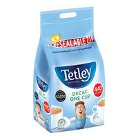 Tetley One Cup Decaffeinated Tea Bags - Pack of 440 - NWTTBC