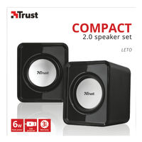 Trust Compact USB Speakers Set (6 Watt RMS) 19830