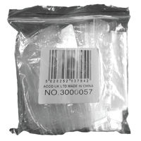 View more details about Rexel Crystalfile Flexifile Tabs - Pack of 50 - 3000057