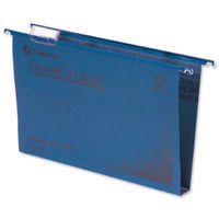 Rexel Crystalfile Blue Classic Suspension Files, 50mm - Pack of 50 - 71751