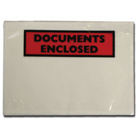 Go Secure A7 Document Enclosed Envelopes, Pack of 100 - 9743DEE01