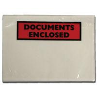 Go Secure DL Document Enclosed Envelopes, Pack of 100 - 9743DLDE01