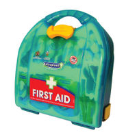 View more details about Wallace Cameron Green Medium First Aid Kit BSI-8599 1002656