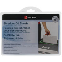 View more details about Rexel Non Auto Oiling Oil Sheets, Pack of 20 - 2101949
