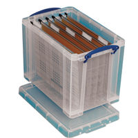 Really Useful 24 Litre Storage Box with Lid - 24C