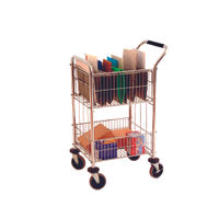 Mail Room Trolley with 2 Baskets - 320537